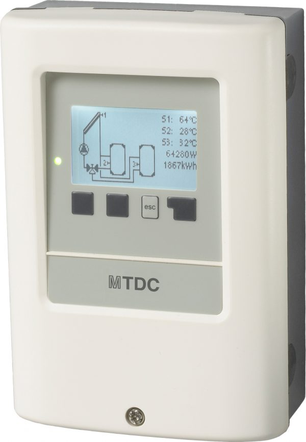 Zonneboiler controller, Delta T regeling medium