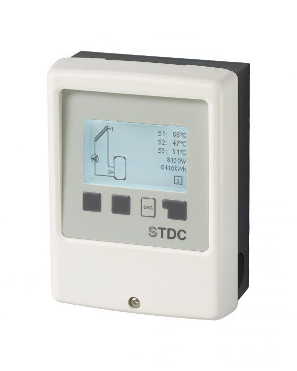 Zonneboiler controller, Delta T regeling klein