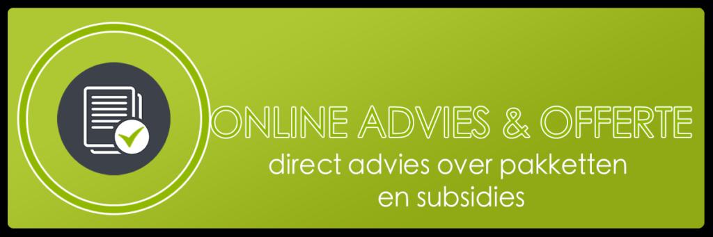 Online advies & offerte voor zonneboilers